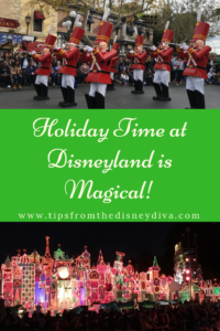Holiday Time at Disneyland is Magical!