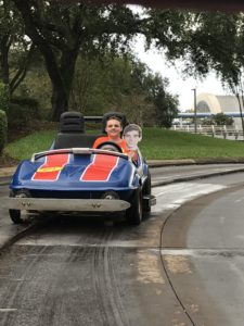 Tomorrowland Speedway at Magic Kingdom
