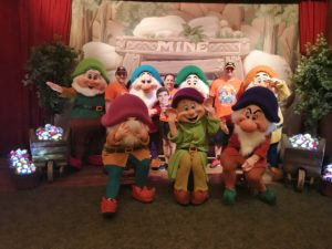 Seven Dwarf's meet and greet at Mickey's Not So Scary Halloween Party