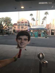 Flat Jacob at rope drop at Hollywood Studios