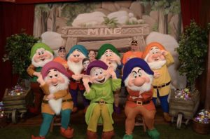 Seven Dwarf's at Mickey's Not So Scary Halloween Party at Magic Kingdom