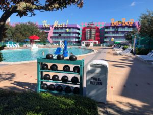 Disney World, Walt Disney World, POP Century Resort, Preschool, Preschoolers, Travel with Preschoolers, Travel with Kids, Family Travel, Preschool Fun, Walt Disney World Hotel, Disney Resort, POP Century, Disney Pool, Disney Resort Pool, 50's Section