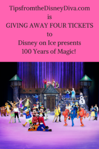 Giveaway Disney on Ice 100 Years of Magic!