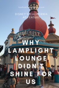 "Why Lamplight Lounge Didn't ""Shine"" for Us"