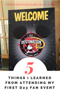 5 Things I Learned from Attending My First D23 Fan Event
