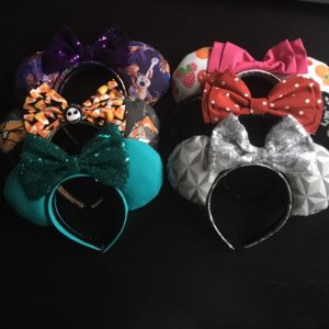 Disney World, Walt Disney World, Mickey EARS, Disney Bounding, Disney Bound, Dress Up, Disneyland, Disney theme parks, Disney Ears, Kids Wear, Disney Fashion, Creative Ears, Share Your Ears, Coco, Spaceship Earth, Minnie Mouse, Rock the Dots, Halloween, MNSSHP, Teal