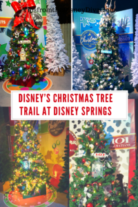 Christmas Tree Trail - Disney Springs