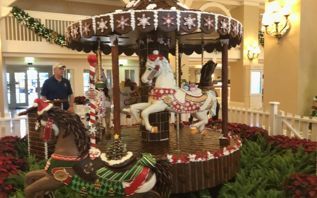 Sugar & Spice and Everything Nice: Gingerbread Displays at Walt Disney World Resort