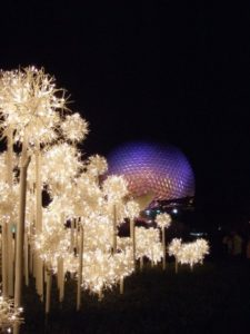 Epcot for Christmas
