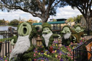 Topiaries at Epcot