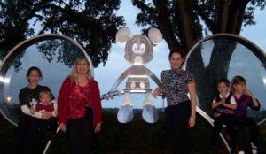 Christmas at Disney World, traveling for Christmas