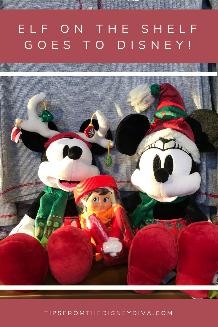 Elf On The Shelf Goes To Disney Tips From The Disney