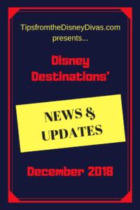 Disney World updates, Disneyland updates, Disney cruise line updates, aulani updates, adventures by disney updates