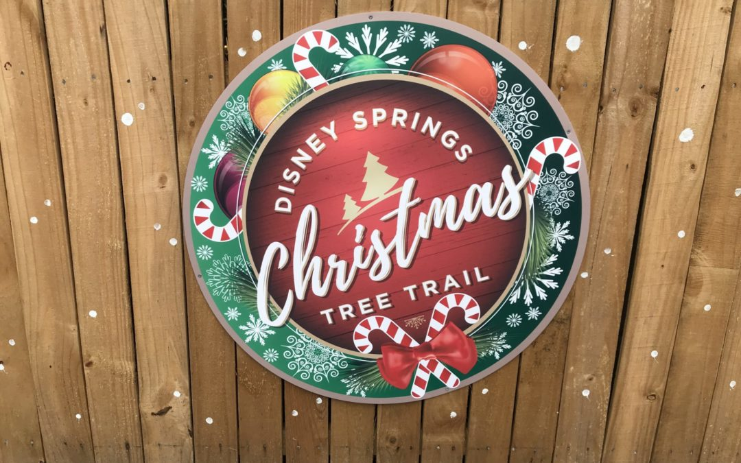 Walking in a Winter Wonderland: Disney's 2018 Christmas Tree Trail