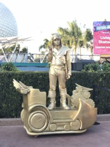 Living Statue at Epcot's Festival of the Arts