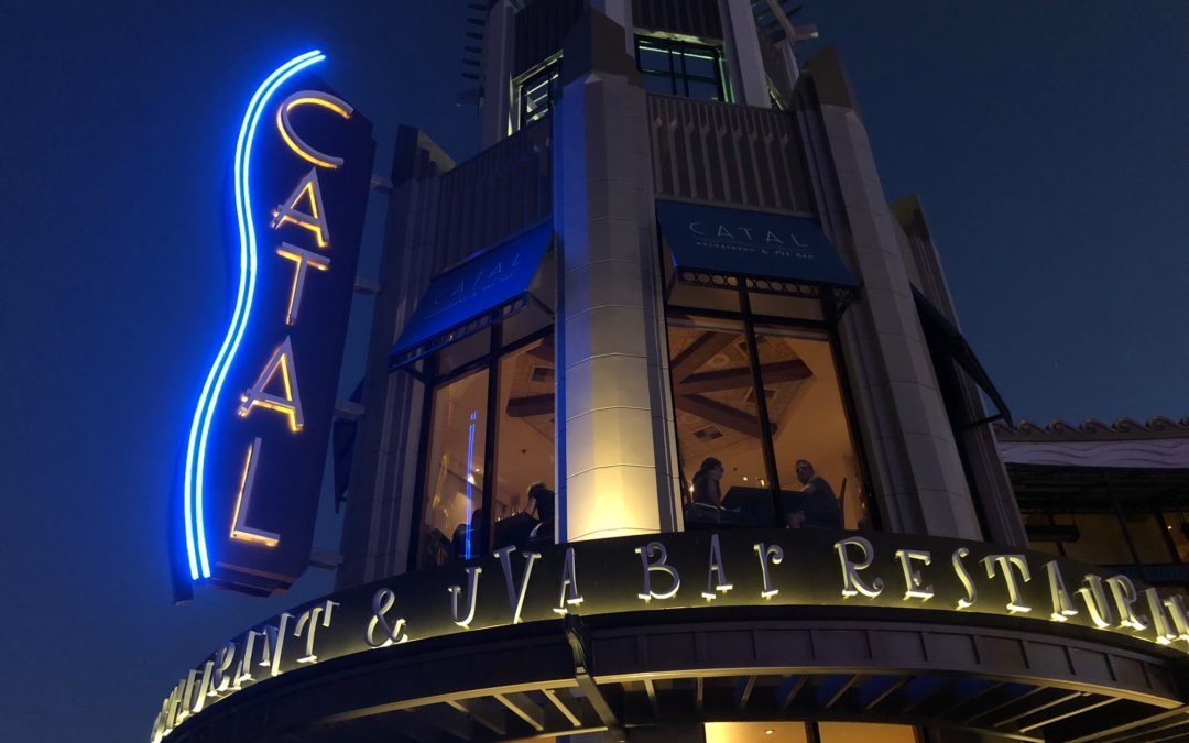 Catal Restaurant in Disneyland's Downtown Disney District