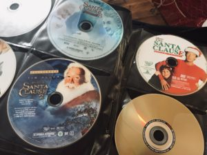 The Santa Clause DVDS