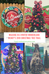 Walking In A Winter Wonderland: Disney's Christmas Tree Trail