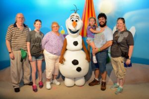 Olaf Meet and Greet