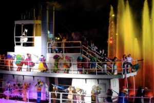 Fantasmic at Hollywood Studios