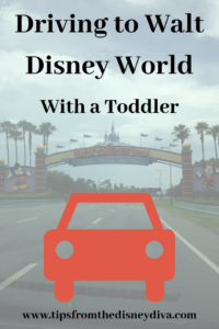 Driving to Walt Disney World with a Toddler