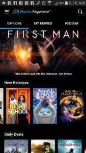 Guide to Movies Anywhere