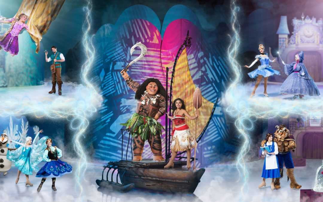Win 4 Tickets to Disney on Ice presents Dare to Dream for Valentine's Day!