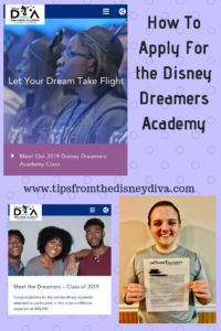 How to Apply for the Disney Dreamers Academy