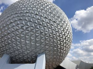 EPCOT's iconic Spaceship Earth