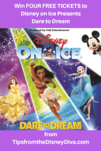 Win Four TIckets to Disney on Ice presents Dare to Dream for Valentine's Day!