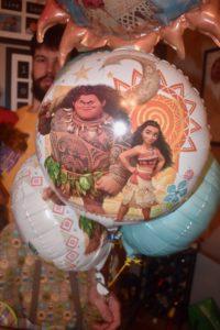 Moana balloons