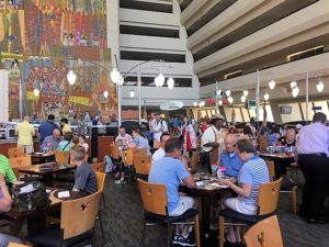 A Review of the Contemporary Resort's Contempo Cafe