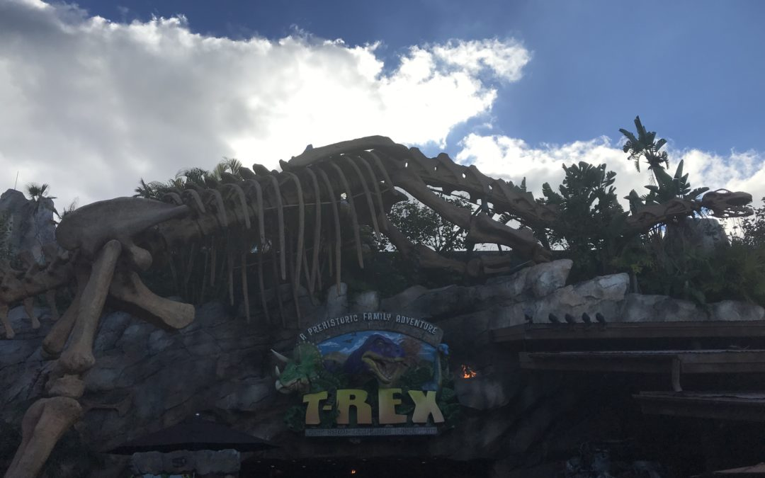 Have a Prehistoric Time at T-REX!