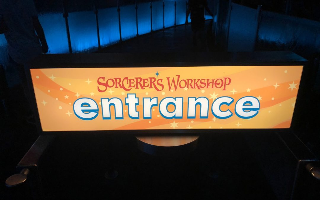 Gems of Disney California Adventure Park – Sorcerer's Workshop