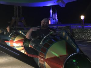 Astro Orbiter in Walt Disney World's Tomorrowland