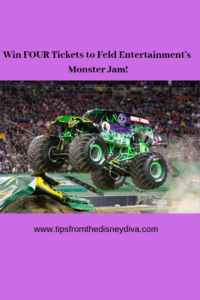 Win Four Tickets to Monster Jam!