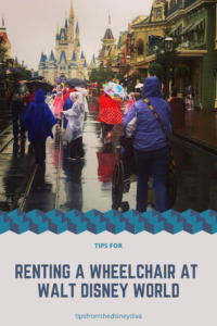Tips for Renting a Wheelchair at Walt Disney World