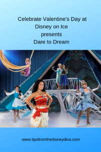 See Disney on Ice presents Dare to Dream Valentine's Day weekend!