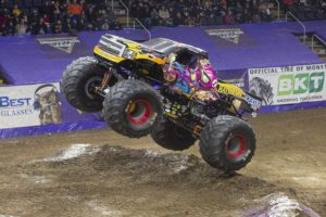 Don't Miss Monster Jam at Tingley Coliseum!