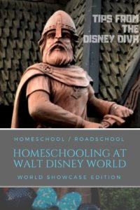 Homeschooling at Walt Disney World: World Showcase Edition