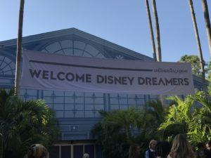Dreamers were greeted to the welcome ceremony at Disney Dreamers Academy 2019