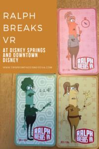 Ralph Breaks VR at Disney Springs and Downtown Disney