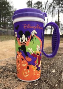 Refillable Disney World Mug, Halloween Edition