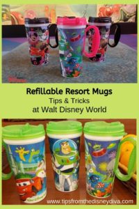 Refillable Resort Mugs - Tips & Tricks at Walt Disney World