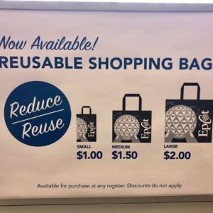 Reusable Shopping Bag Prices WDW