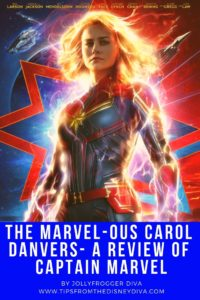 The Marvel-ous Carol Danvers - A Review of Captain Marvel