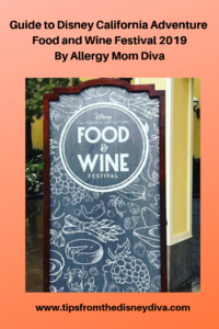 Disney California Adventure Food and Wine Festival 2019