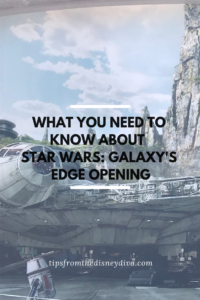 What You Need to Know about Star Wars: Galaxy's Edge Opening