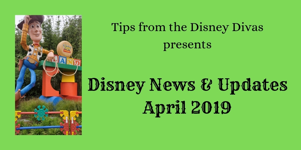 Disney Travel News & Updates, Highlights from April 2019!