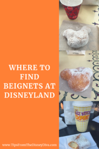 Where to Find Beignets at Disneyland